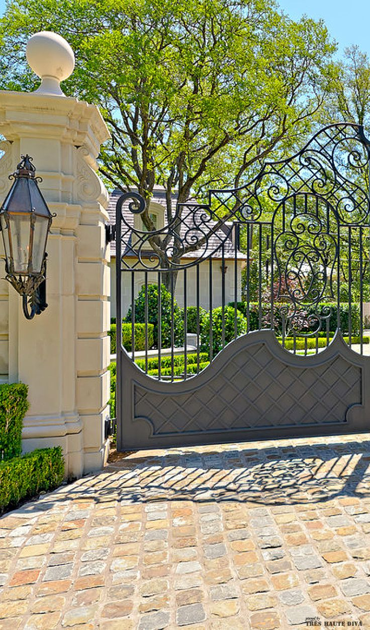 1000+ Ideas About Wrought Iron Gate Designs On Pinterest