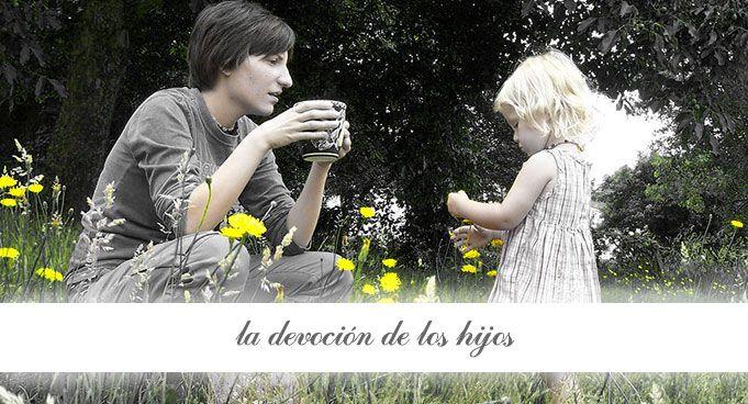 Virtudes del té: la devoción de los hijos.
