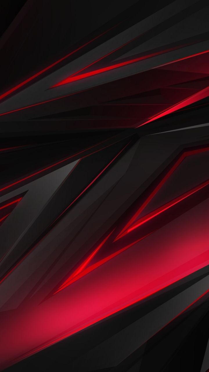 Red Glowing Edge Dark Shapes 720x1280 Wallpaper Graphic Wallpaper Iphone Wallpaper Vintage Wallpaper
