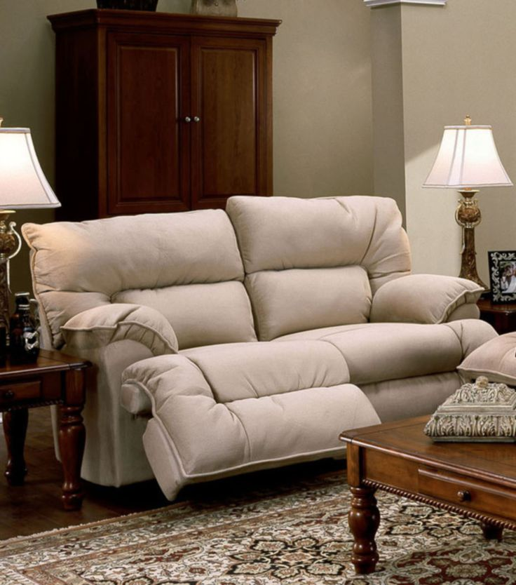 Tristin Rocking/Reclining Loveseat in Padded Suede by Franklin - Home Gallery Stores
