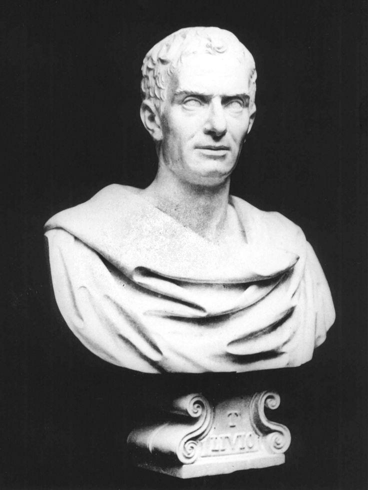TITO LIVIO (59 a. C.-17 d. C). Historiador romano. Lorenzo Larese Moretti. Palazzo Loredan, Venecia.