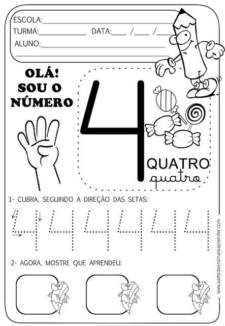 Atividade pronta - Numeral 4