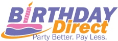 BirthdayDirect.com - This site has an extensive list of themed party supplies for kids and adults alike.