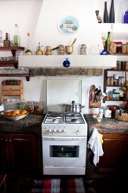 Messy Cool: 15 Bohemian Kitchens | Apartment Therapy