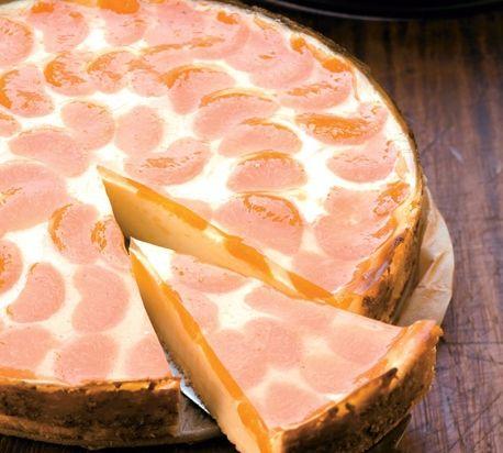 Mandarínkový cheesecake