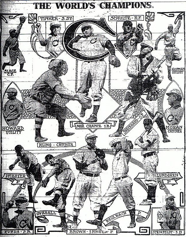 Joliet Daily Republican... Newspaper article about the Chicago Cubs World Series Victory over the Detroit Tigers.... Yes, it was 1908, but I gotta love my Cubbies!!! (post dedicated to Grandpa S.)