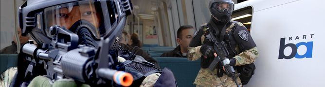 """#teaparty #union #iww #occupy #ows #p2 #p21 #tlot #tcot    """"I Opened the Door… They're Pointing Rifles at Me.""""   https://occupyoakland.org/2015/09/i-opened-the-door-theyre-pointing-rifles-at-me/   So related a thirteen year old girl, one of the speakers at this year's Urban Shield protest in Oakland, describing an encounter with a local SWAT team.  Urban Shield, sponsored by the the Alameda County Sheriff, is an annual police convention and tradeshow, glorifying the militarization of police…"""