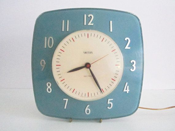 Reserved Retro 1955 Smiths Sectric Wall Clock