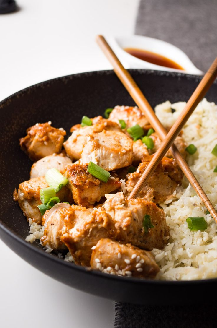 This crazy delicious chicken is sweet, tangy, and sticky plus it's ready in 20 minutes!