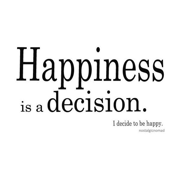 choose happy.