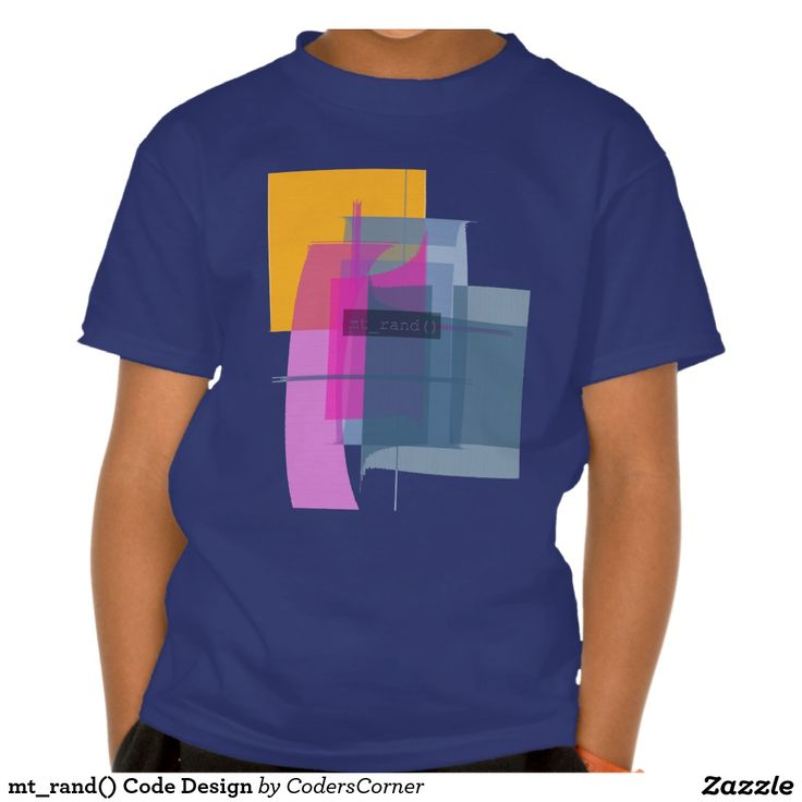 mt_rand() Code Design Tshirt
