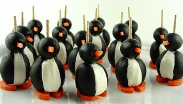 Pingüinos lindos y sabrosos