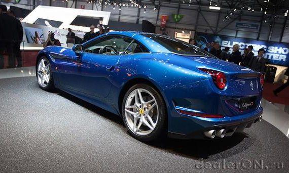 Суперкар Феррари Калифорния Т / Ferrari California T