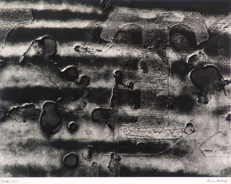 Aaron Siskind 1952 Chicago
