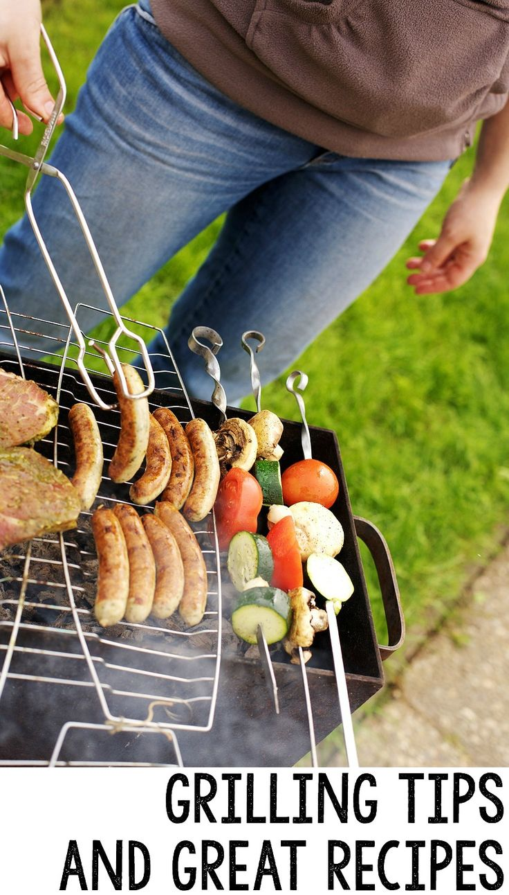 Looking for grill recipes or grilling tips to make outdoor grilling easier? Check out this page filled with great grilling tips and recipes you'll love.