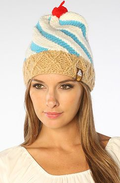 The Cone Beanie in Blue hat by Neff - $28