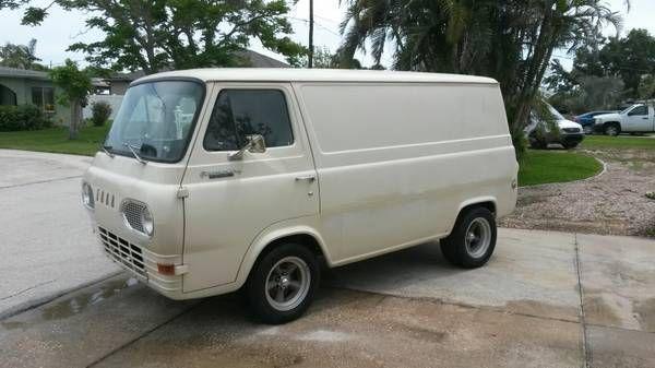 1964 Econoline Panel Van No Door Van Cool Vans Panel Truck