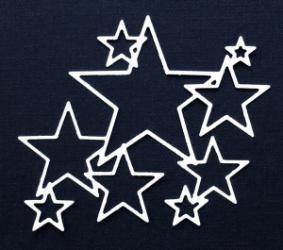 Gummiapan die- Kopplade stjärnor