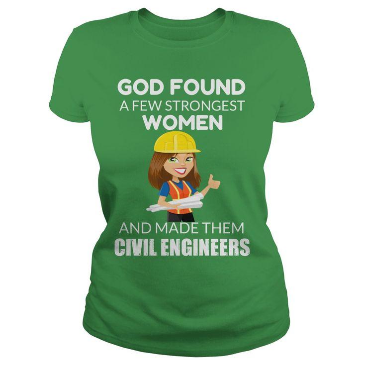 Female Civil Engineer T Shirt