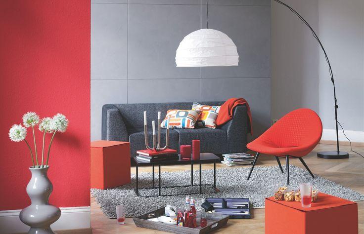 Pin Auf Wohnen In Farbe: Die Besten 25+ Wandgestaltung Rostoptik Ideen Auf