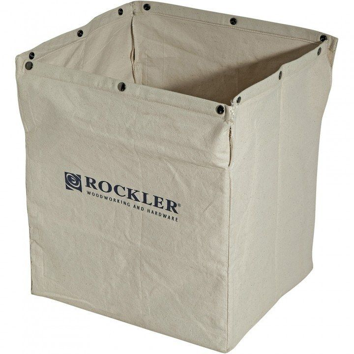 Rockler Contractor Table Saw Dust Bag is ideal for smaller shops that lack dust collection, and for contractors who routinely work on the jobsite. It fits most contractor table saws.