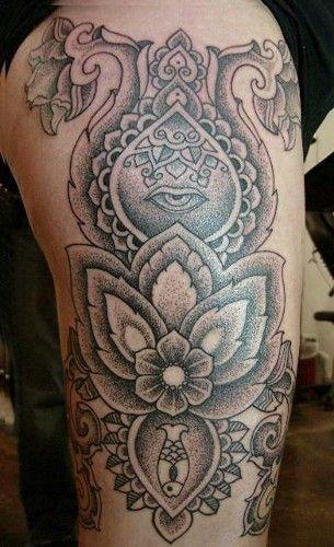 Best 25+ Upper thigh tattoos ideas on Pinterest   Tattoo ...
