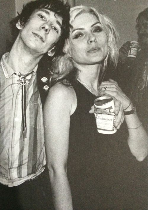Stiv Bators & Debbie Harry