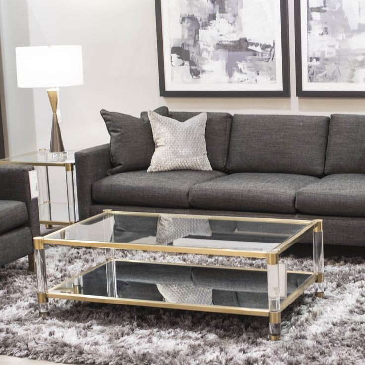The living room of your dreams. Mix tones and texture to bring dimension to you room