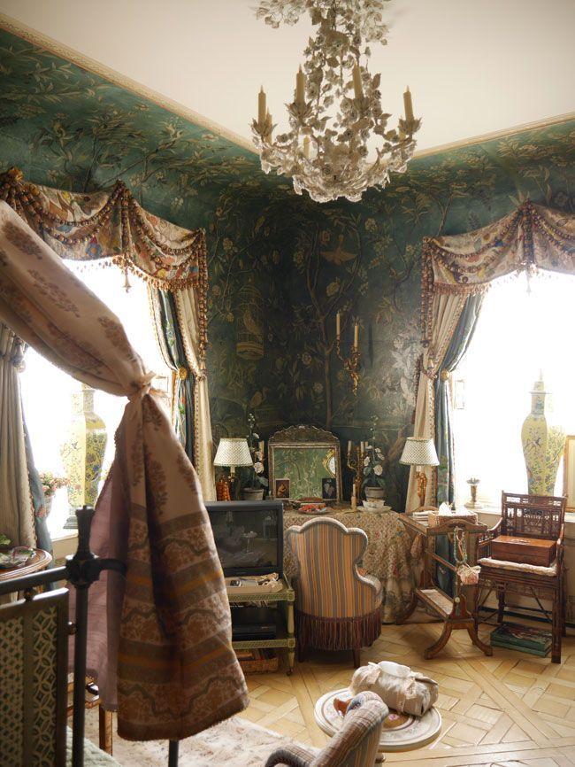 Corner Of Howard Slatkin Guest Bedroom