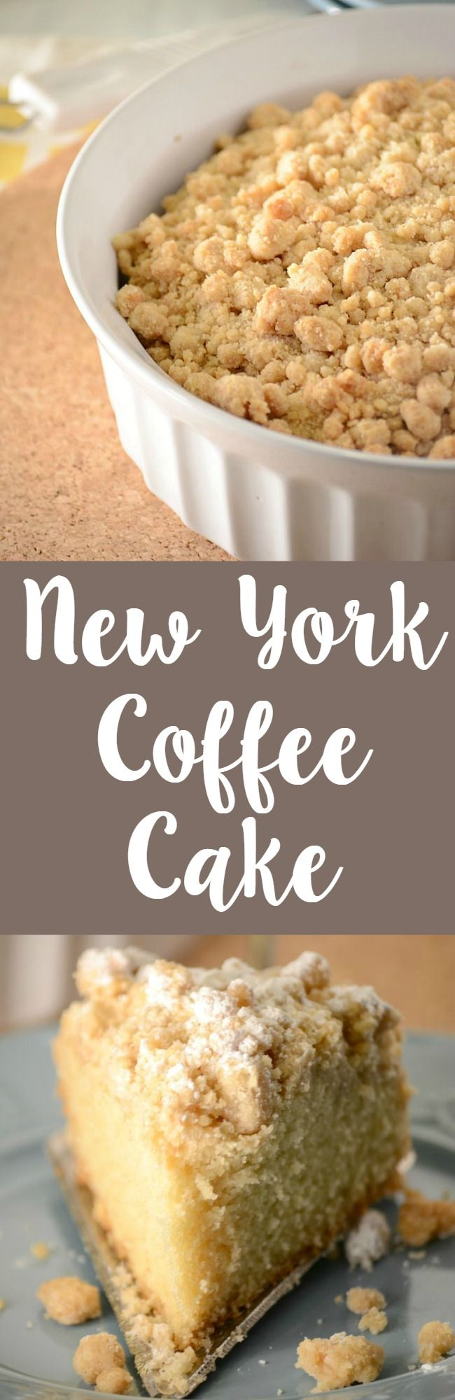 New York style coffee cake recipe