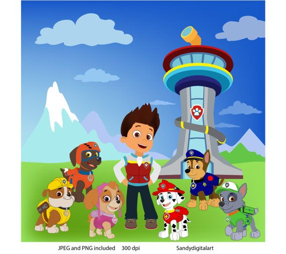 27 Best Paw Patrol Images On Pinterest Paw Patrol Party