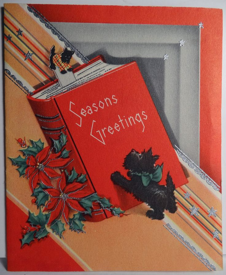 516 best Christmas: Art Deco & the 20's, 30's Cards and ...