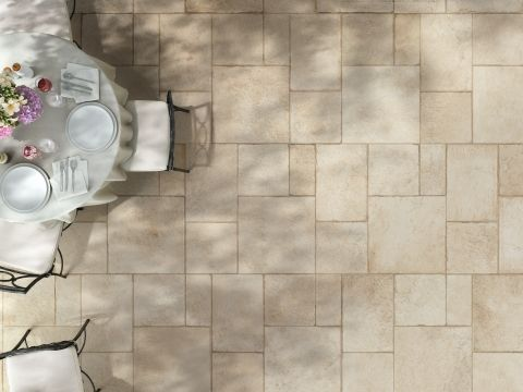 French Style Flagstone Tiles - The Chateau Royal Collection