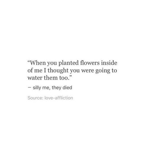 Image via We Heart It #grunge #heartbreak #quote #sad #love