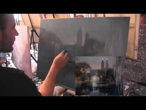 ▶ И.Сахаров, ПОЛНЫЙ УРОК РИСОВАНИЯ , художник Сахаров - YouTube