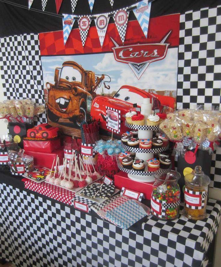 Disney Cars Birthday Party Ideas