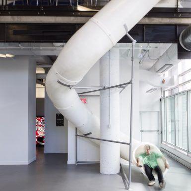 FRIMA STUDIO | Fugère architecture Open Space Office design / Aménagement de bureaux, Quebec 2014