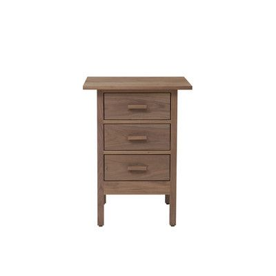 Smith 3 Drawer Nightstand Finish: Black, Wood Veneer: Painted Eco-MDF - http://delanico.com/nightstands/smith-3-drawer-nightstand-finish-black-wood-veneer-painted-ecomdf-589074531/