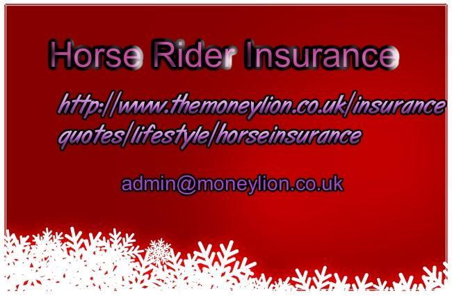 http://www.themoneylion.co.uk/insurancequotes/lifestyle/horseinsurance horse rider insurance