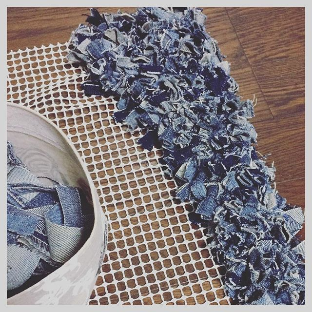 17 Best Images About Rag Rug Latch Hook Rug On Pinterest