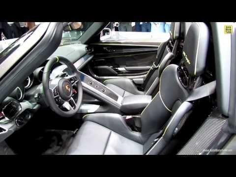 2014 porsche 918 spyder exterior and interior walkaround 2013 frankf