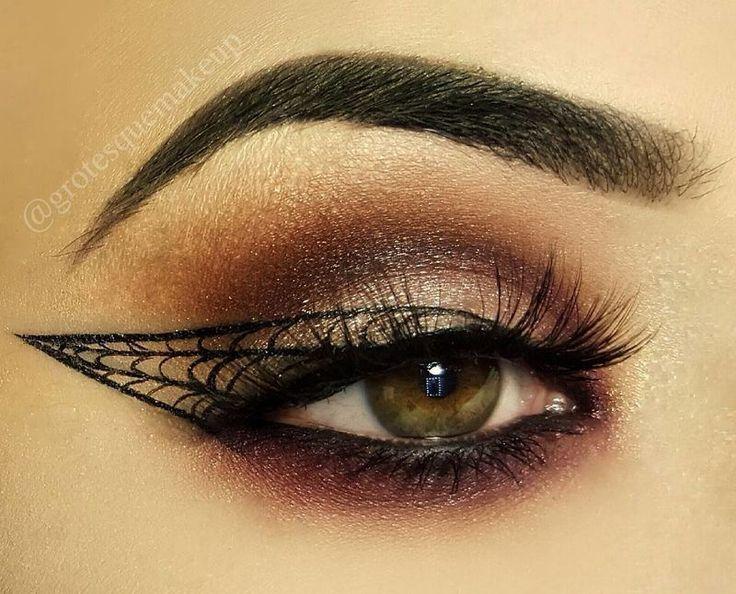 11 amazing spider makeup ideas for Halloween   Revelist