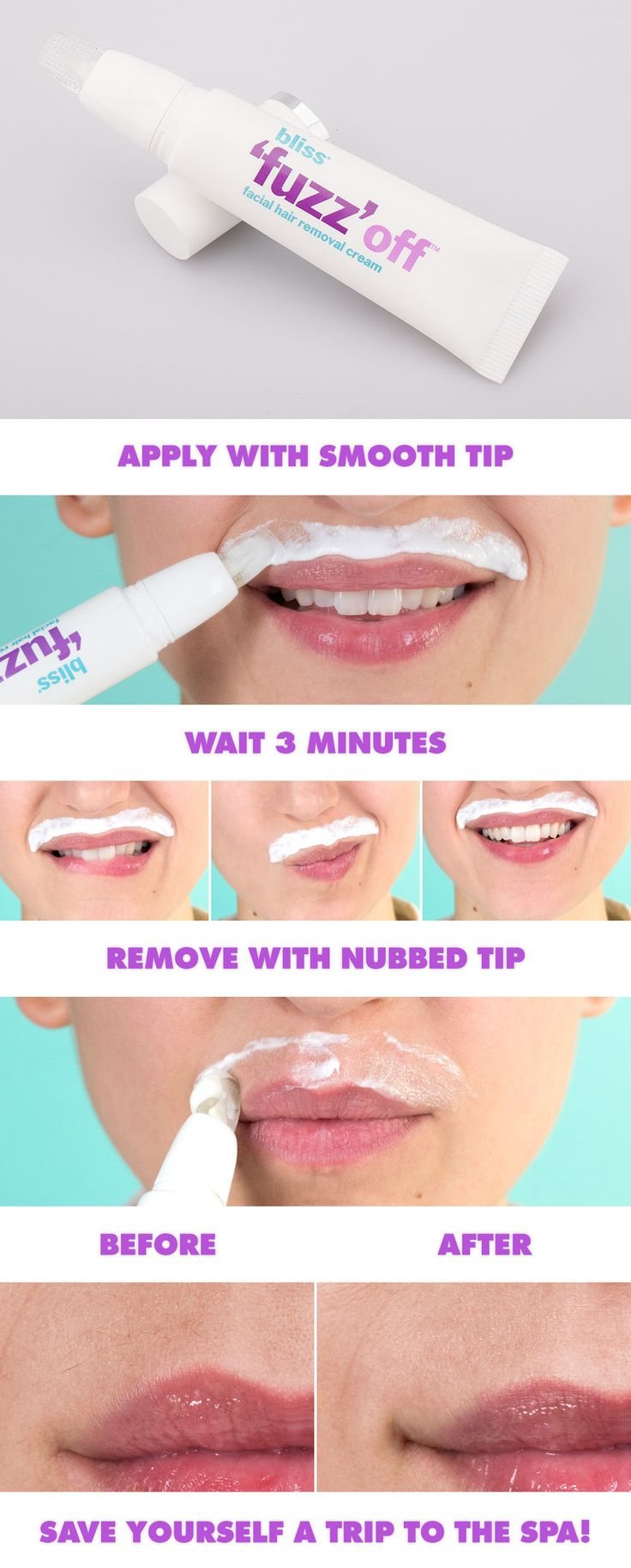best facial hair removal cream images on pinterest home