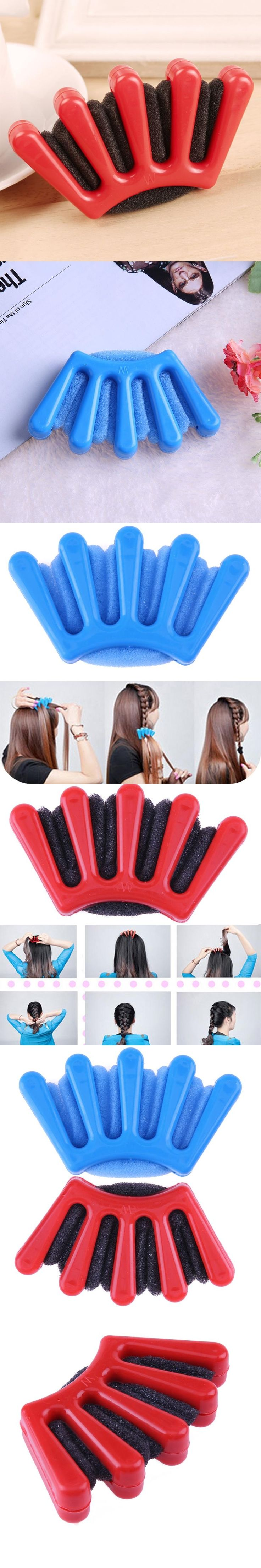 Portable Plastic DIY Hair Braider Tools Home Use Creative Hair Styling Twist Pigtail Hair Braiding Tool