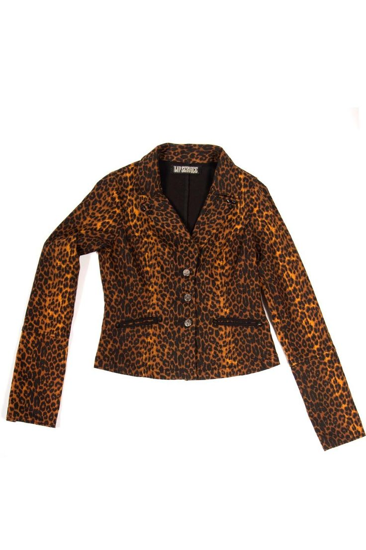 "LIP SERVICE On The Prowl! ""A Leopard Doesn't Change It's Spots"" jacket #28-131.1"
