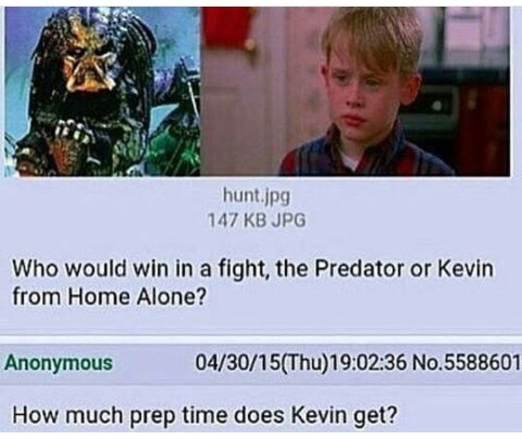 5 hours and my money is on Kevin