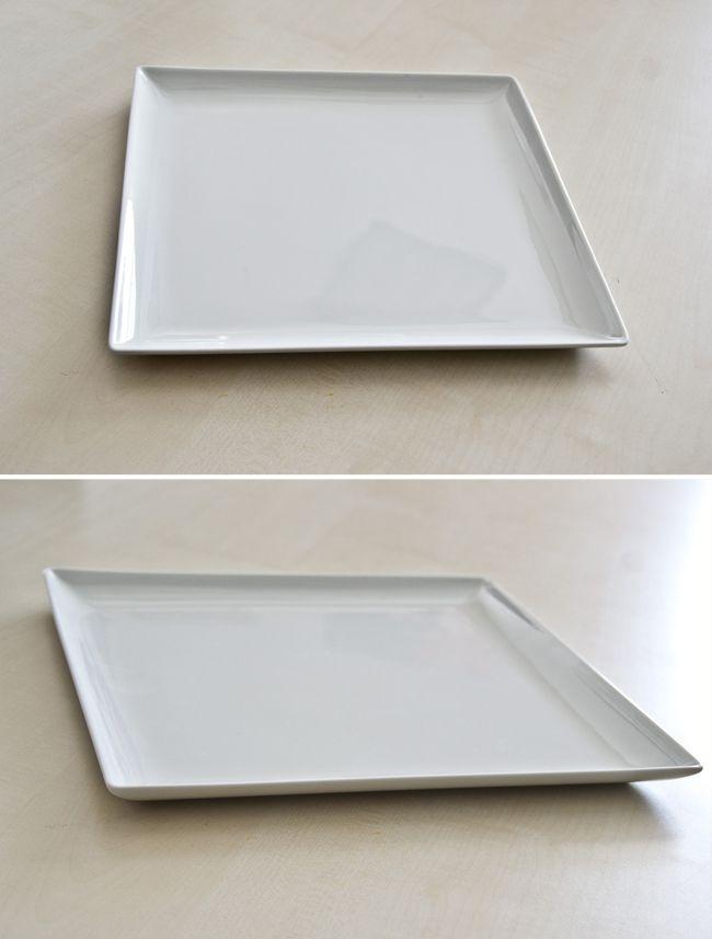Talerz płaski kwadratowy 300 mm | RAK, Nano
