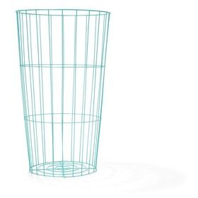 Wire Storage Hamper - Aqua