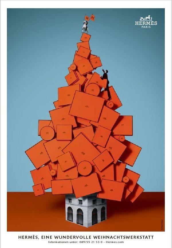 Hermès - campagne de publicité / ad campaign - Noël 2011