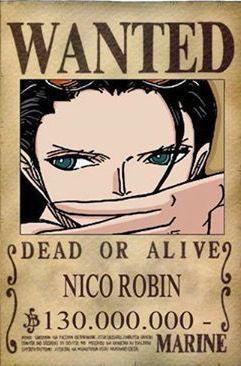 Robin Dressrosa Wanted Poster